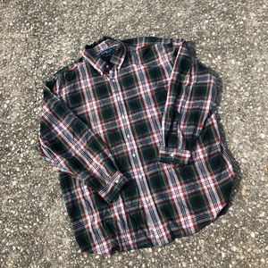 Polo Ralph Lauren Plaid Button Down Shirt